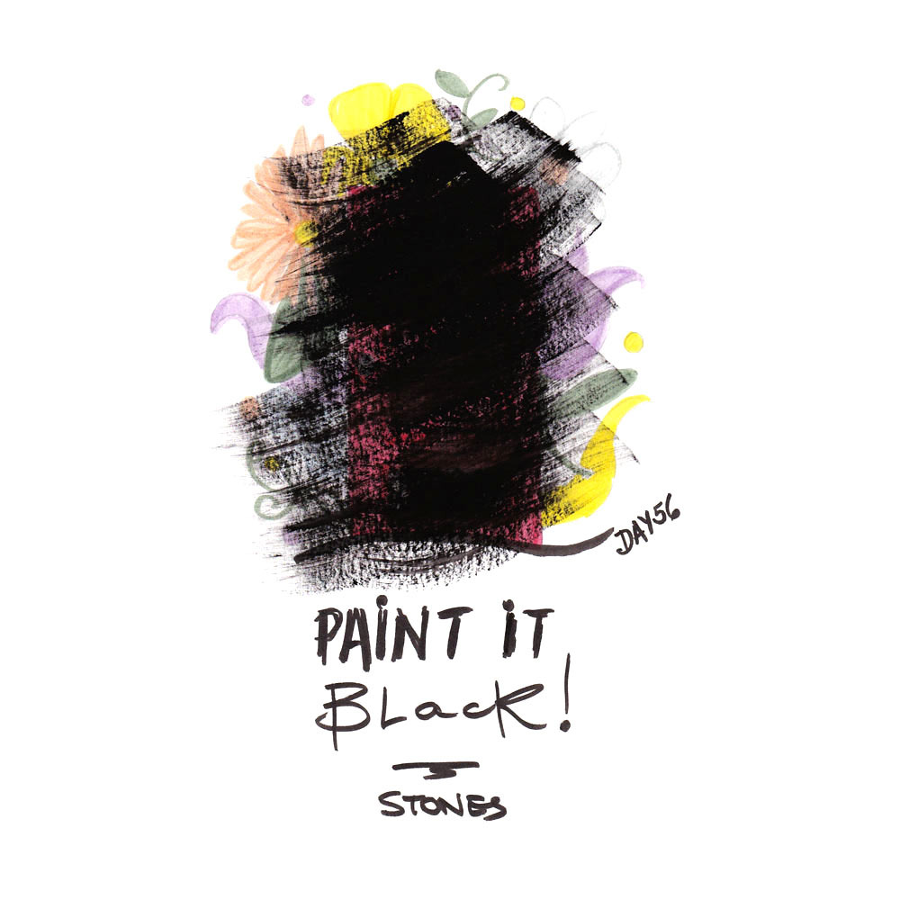 Day 56: Paint It Black, Rolling Stones