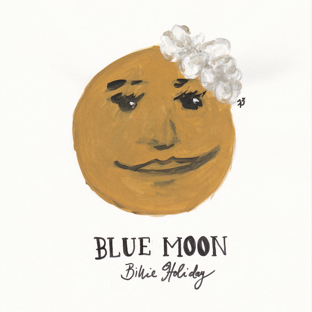 Day 73: Blue Moon, Billie Holiday